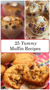 25 muffin recipes: savory muffins perfect for breakfast, vegetable muffin recipes, and yummy sweet muffins