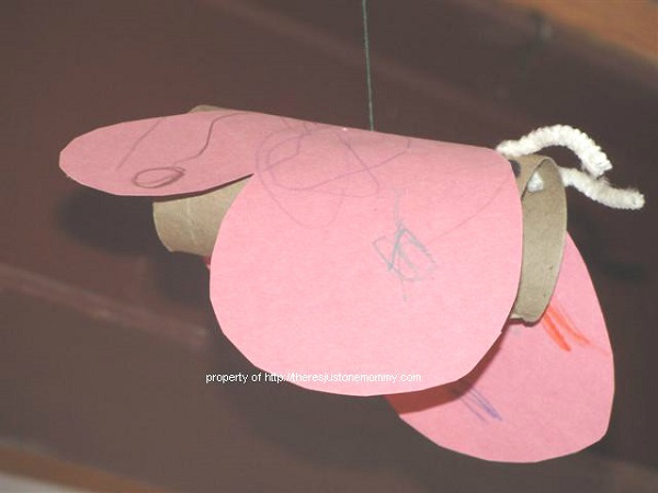 cardboard tube bug craft