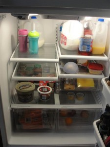 clean fridge!