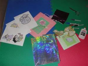 Decorating items...