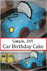 how to make a 3 dimensional car cake,