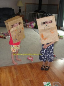 Paper Bag Robots – Wordless Wednesday