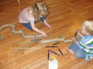 cardboard tube craft