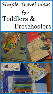 traveling with kids: simple ways to keep toddlers and preschoolers entertained while traveling