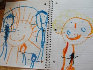 toddler drawings