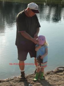 preschooler fishing