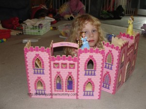 Melissa and Doug castle