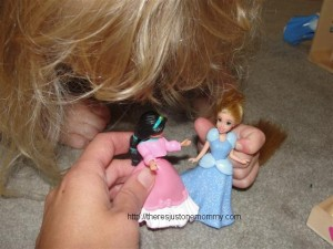 playing Disney princess
