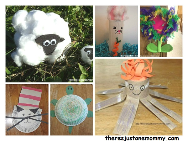 kids cardboard tube and paper plate craft ideas