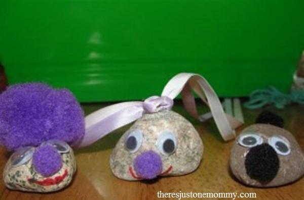 cute pet rock craft