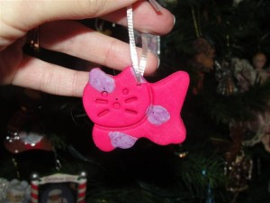 playdoh ornament