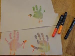 toddler Thanksgiving craft