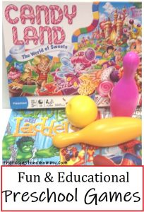 games for toddlers & preschoolers