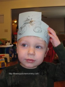 toddler New Years ideas