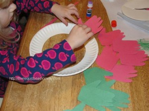 preschooler Christmas craft