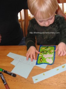 toddler New Year's craft
