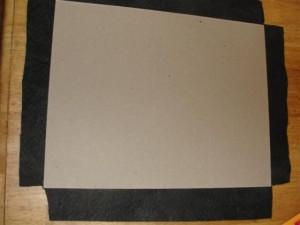 making a simple felt board