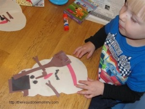 simple snowman craft