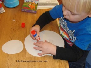 toddler snowman craft