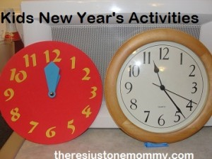celebrating New Years with kids