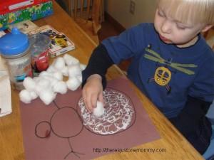 winter toddler craft