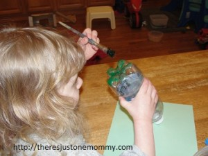 preschooler snow craft