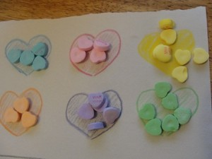 conversation heart game