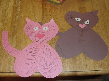 kids Valentine's craft