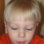cutting toddler hair