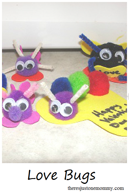 Homemade Valentine's Day gift kids can make: Love Bugs!