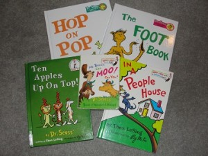 early reader Dr Seuss books