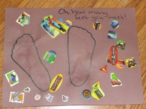 The Foot Book activity