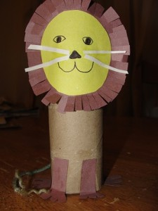 toilet paper tube craft