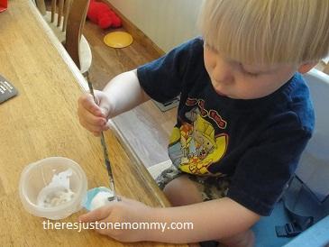 toddler spring chick craft