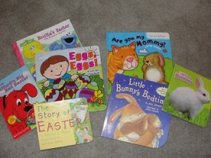 toddler Easter books