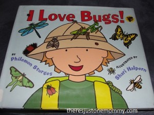 toddler bug book