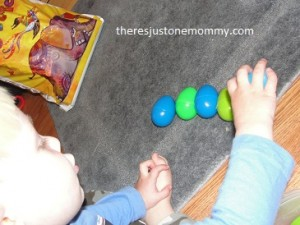 Plastic egg activity