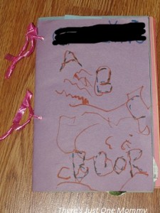 toddler ABC activity