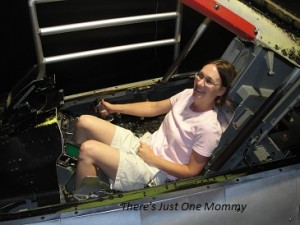 Watch out world, OneMommy is in a F-16!