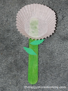 toddler flower craft