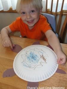 toddler turtle craft
