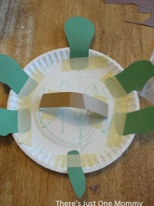 paper plate puppet