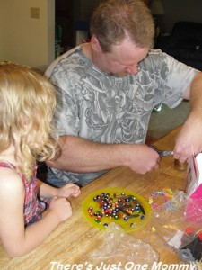 Fun crafts with Daddy
