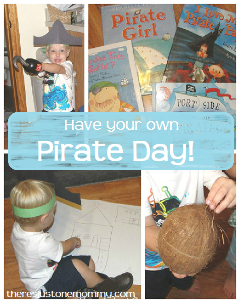 ideas for hosting your own pirate day