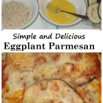 simple and delicious eggplant Parmesan recipe