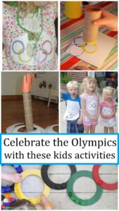kids activities to celebrate the Olympics