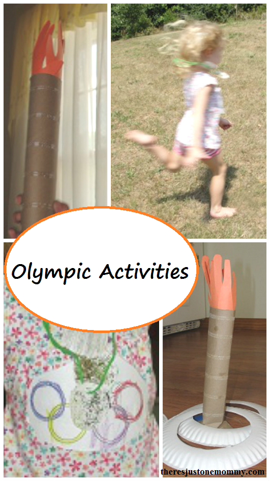 Kids Olympics Activities --- fun ideas for a preschooler Olympics field day