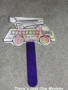 truck puppet