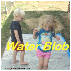 How to make a water blob