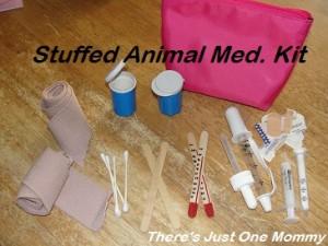 homemade play doctor kit